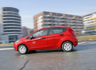Express test: Ford Fiesta 1,25 Ambiente