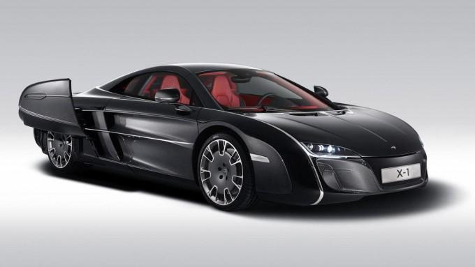 auto magazin srbija McLaren X-1