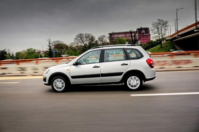 Auto magazin Srbija lada kalina cross vaz 2194 test review 2016