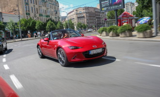 Test: Mazda MX-5 G160 Revolution