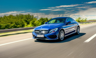 Test: Mercedes-Benz C-Class Coupé C 200 7G-TRONIC PLUS