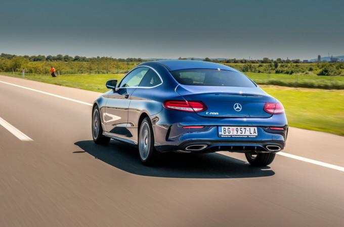 Auto magazin srbija Mercedes C 200 coupe test review 2016