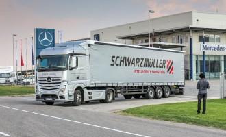 Mercedes-Benz obuka za vozače kamiona u Srbiji