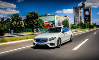Test: Mercedes E220d AMG pack