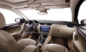 Škoda Octavia donosi luksuzne detalje u kabini