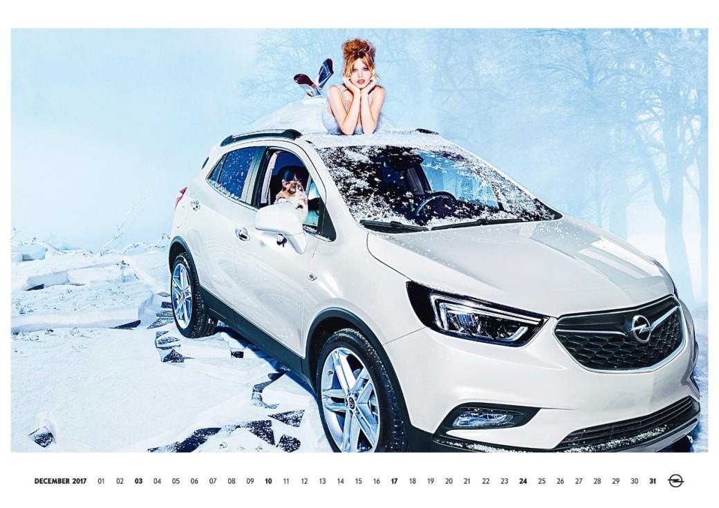 auto magazin rs Opel kalendar 2017