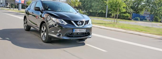 Test: Nissan Qashqai 1.2 DIG-T X-Tronic 360 Plus