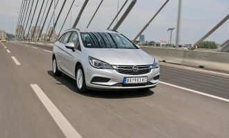 Test: Opel Astra Sports Tourer 1.6 CDTI Enjoy