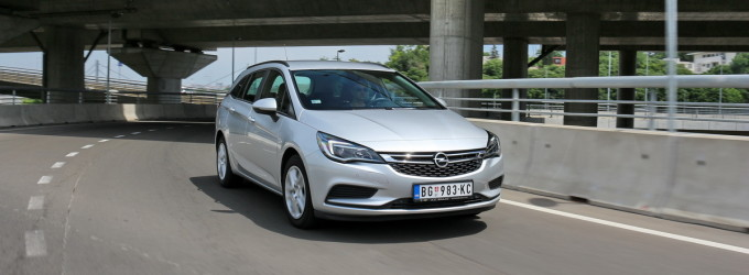 Test: Opel Astra Sports Tourer 1.6 CDTI Enjoy