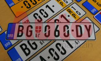 Spremite pare za nove registarske tablice!