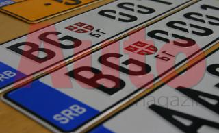 Odlaže se zamena registarskih tablica za dve godine