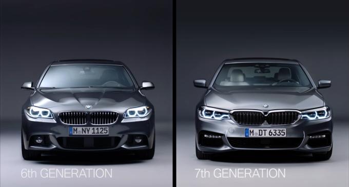 Ovo su najveće razlike između stare i nove BMW Serije 5