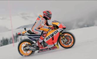 Ovako se prave gume sa spajkovima i vozi motocikl po snegu