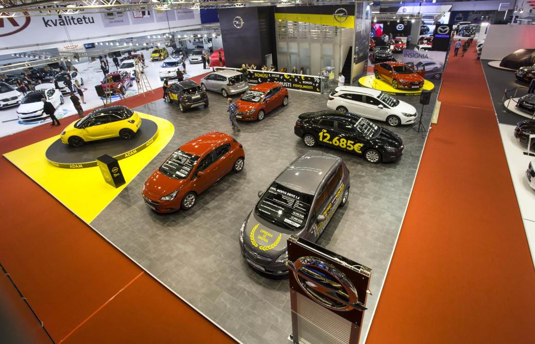 Auto magazin Srbija Opel sajam automobila Beograd 2017 1