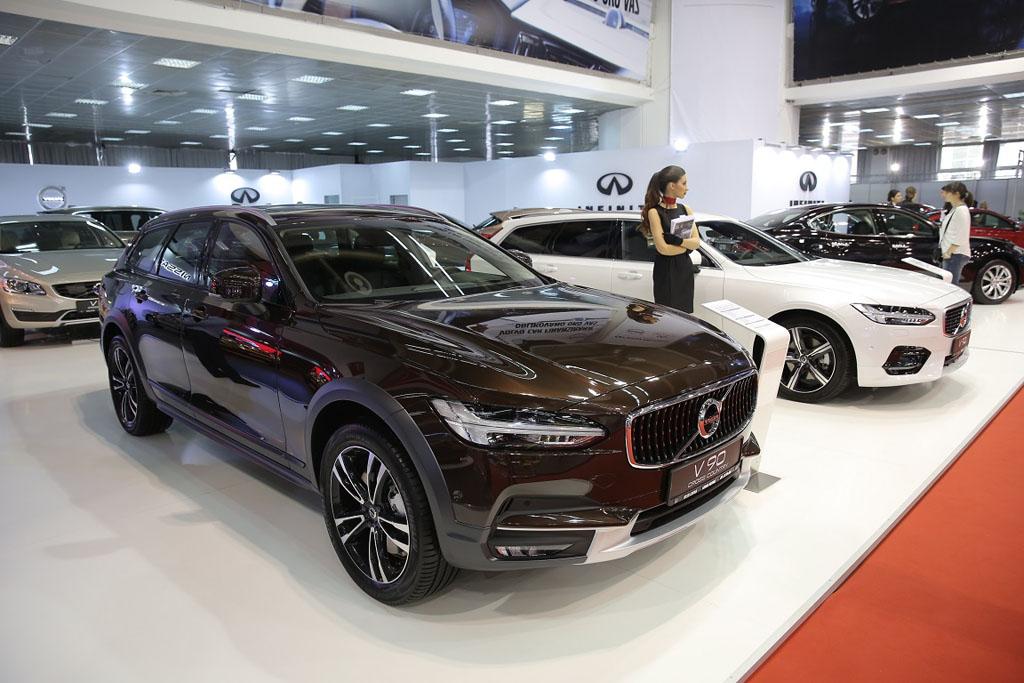 auto magazin srbija ford volvo infiniti grand motors sajam automobila beograd 2017