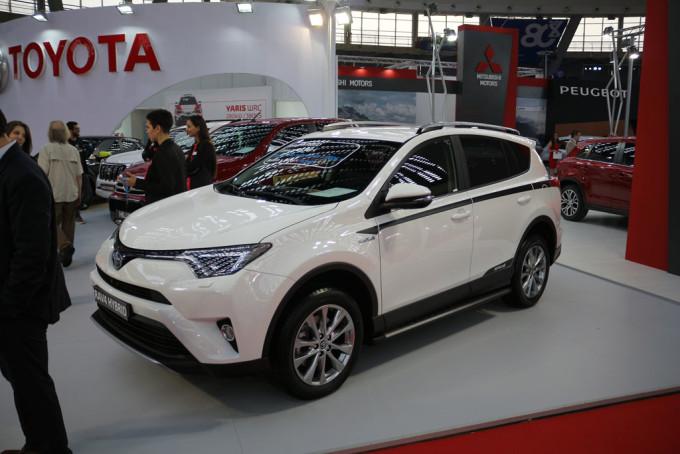 Auto magazin Srbija sajam automobila beograd 2017 Toyota