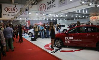 Kia na sajmu automobila u Beogradu