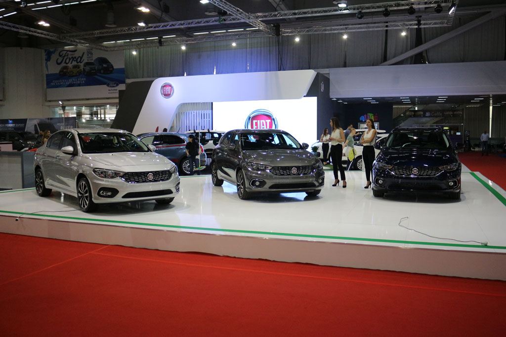 Auto magazin Srbija sajam automobila Beograd 2017 Fiat Alfa Jeep