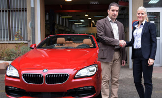 BMW 650i kabriolet doniran studentima Mašinskog fakulteta