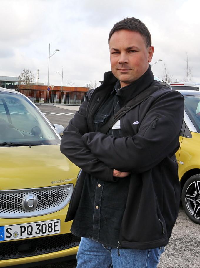 Auto magazin srbija Smart electric drive promocija preview 2017 Aleksandar Bursać