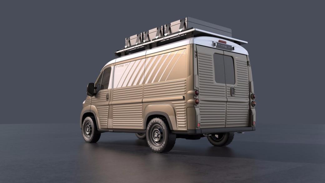 Auto magazin Srbija Citroen Type H kit