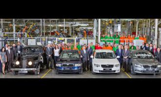 Proizvedena milionita Škoda Superb
