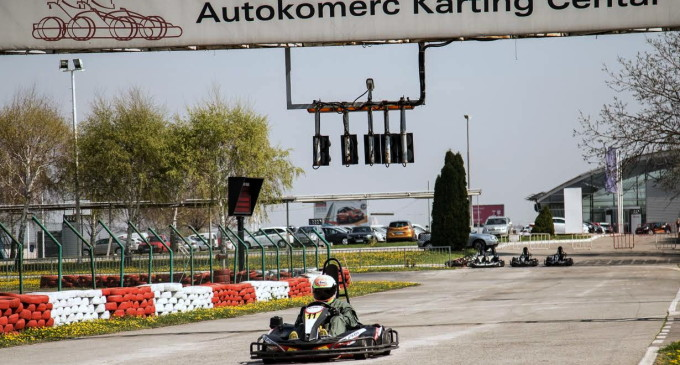 Počela nova karting sezona na stazi Autokomerc