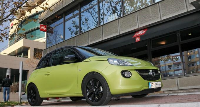Test: Opel Adam 1,2 Ecotec Jam