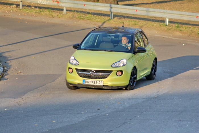 Auto magazin Srbija Opel Adam 1,2 Ecotec Jam test review 2016