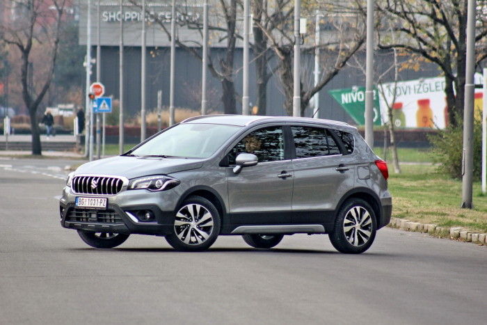 Auto magazin Suzuki S-Cross turbo test review 2016