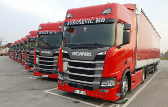 Auto magazin scania nova generacija flota jurošević md