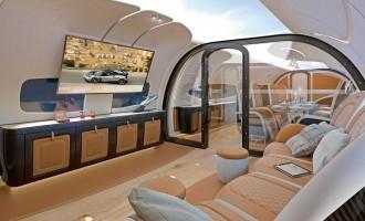 Pagani projektovao enterijer za Airbus ACJ319neo