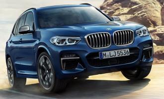 Prve zvanične fotografije: novi BMW X3