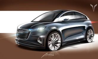 Audi A2 ponovo živi – na crtežu