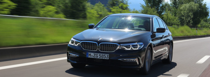 Vozili smo BMW Serije 5 od Minhena do Južnog Tirola i nazad