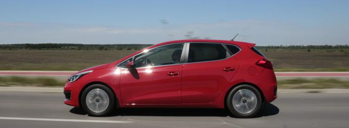 Super Test: Kia Cee'd 1,6 GDI EX Style 1. deo