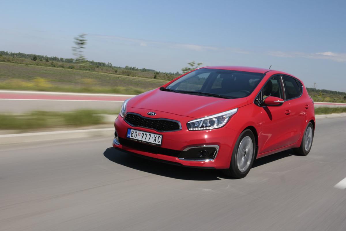 Auto magazin Srbija Super Test Kia Cee'd 1,6 GDI EX Style