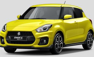 Suzuki Swift Sport potvrđen za Frankfurt