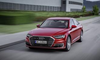 Audi A8: Laseri, masaža stopala, 48 volti…