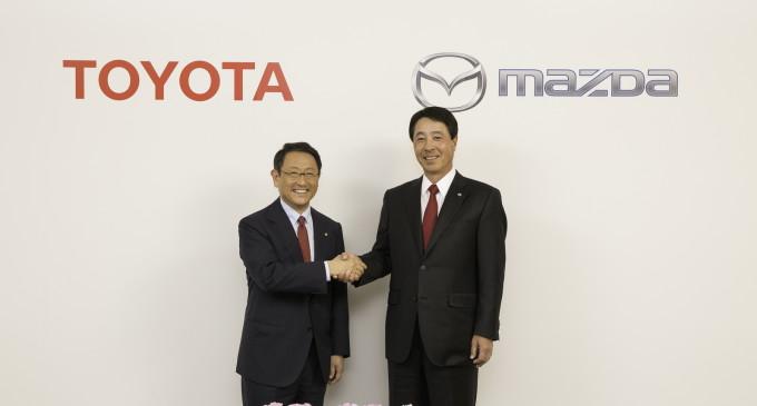 Toyota i Mazda se udružuju