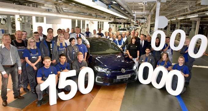 Volkswagen proizveo 150 milioniti auto