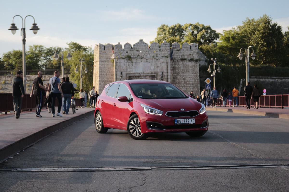 auto magazin srbija super test kia pro ceed