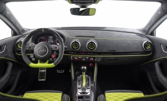 Tjuner Neidfaktor Audi RS3 oplemenio bojom i alkantarom