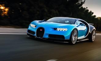 Kako snimiti Bugatti Chiron pri 400km/h? Naravno, drugim Bugattijem