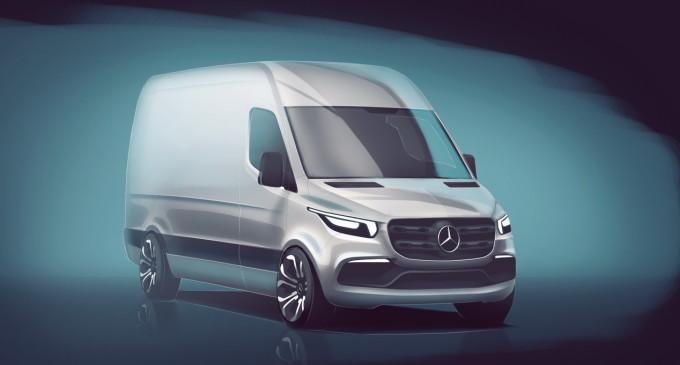 Mercedes polako otkriva izgled novog Sprintera