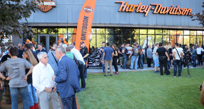 Otvoren novi Harley Davidson salon u Beogradu