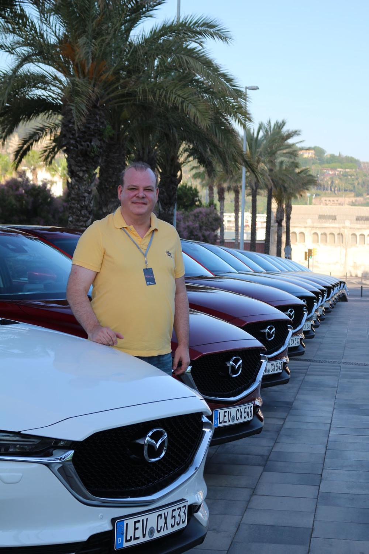 auto magazin srbija promocija test mazda cx-5 barselona ivan katunac