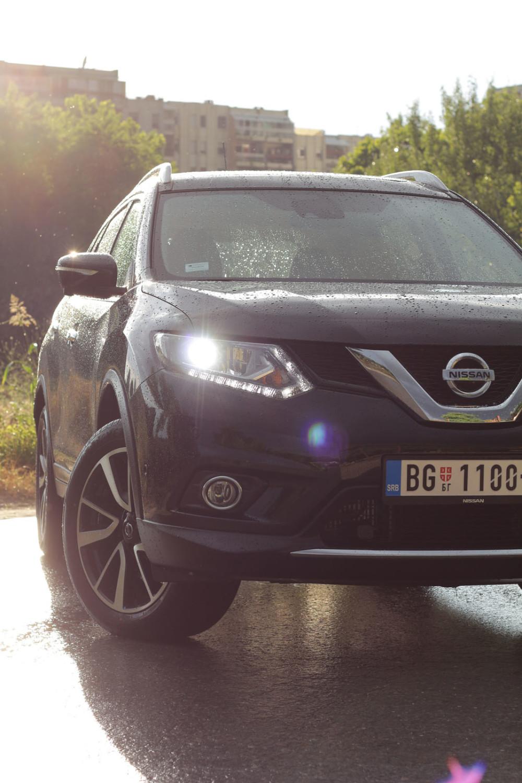 auto magazin srbija test nissan x-trail 2.0 dci 4wd 4x4
