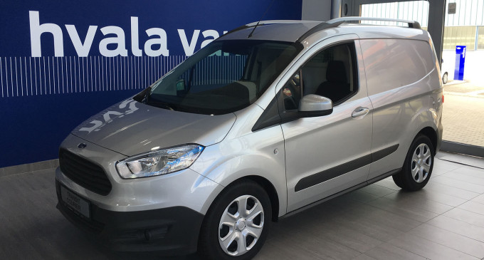 Ford Transit Courier dostupan već od 10.990 evra