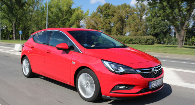 Test: Opel Astra 1,6 CDTi Innovation
